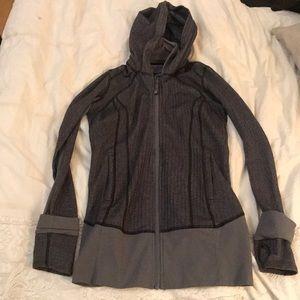 Lulu Lemon hooded zip up size 4